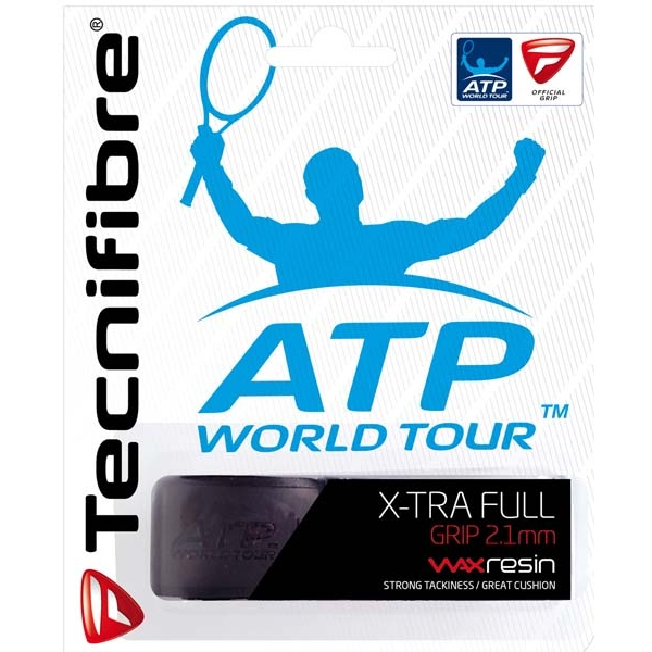 Tecnifibre X-Tra Full Replacement Grip (Black)