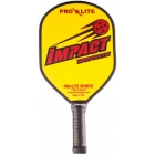 Pro-Lite Impact Graphite Paddle (Yellow) - Tennis Court Equipment