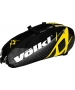 Volkl Team Combi 6-Pack Bag (Black / Yellow) - Volkl Tennis Bags