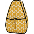 40 Love Courture Yellow Geo Sophie Backpack - New Tennis Bags