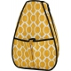 40 Love Courture Yellow Geo Sophie Backpack - Tennis Racquet Bags