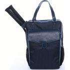 Cortiglia Brisbane Tennis Backpack (Navy) - Designer Tennis Bags