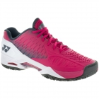 Yonex Men's Power Cushion Eclipsion Tennis Shoe (Dark Pink/Black/White) - Types of Tennis Shoes