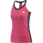 Adidas Women's TS Icon Tank (Pink/ White) - Adidas Tennis Apparel