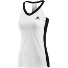 Adidas Womens Icon Tank (Wht/ Blk) - Women's Tops Tennis Apparel
