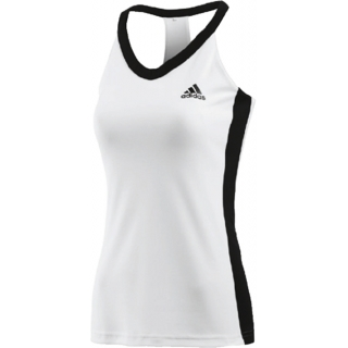 Adidas Womens Icon Tank (White/ Black)