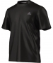 Adidas Men's Clima Ultimate Tee (Black) - New Style Tennis Apparel