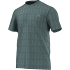 Adidas Men's Clima Ultimate Tee (Dark Grey) - Tennis Apparel