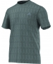 Adidas Men's Clima Ultimate Tee (Dark Grey) - New Style Tennis Apparel