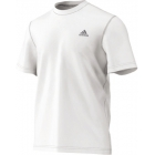 Adidas Men's Clima Ultimate Tee (White) - Tennis Apparel