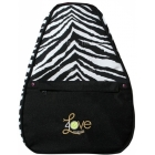 40 Love Courture Zebra Betsy  Backpack - 40 Love Courture Betsy Medium Tennis Bags
