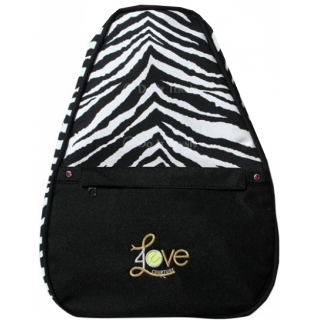 40 Love Courture Zebra Elizabeth Tennis Backpack