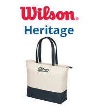 Wilson Heritage Tennis Bag Collection