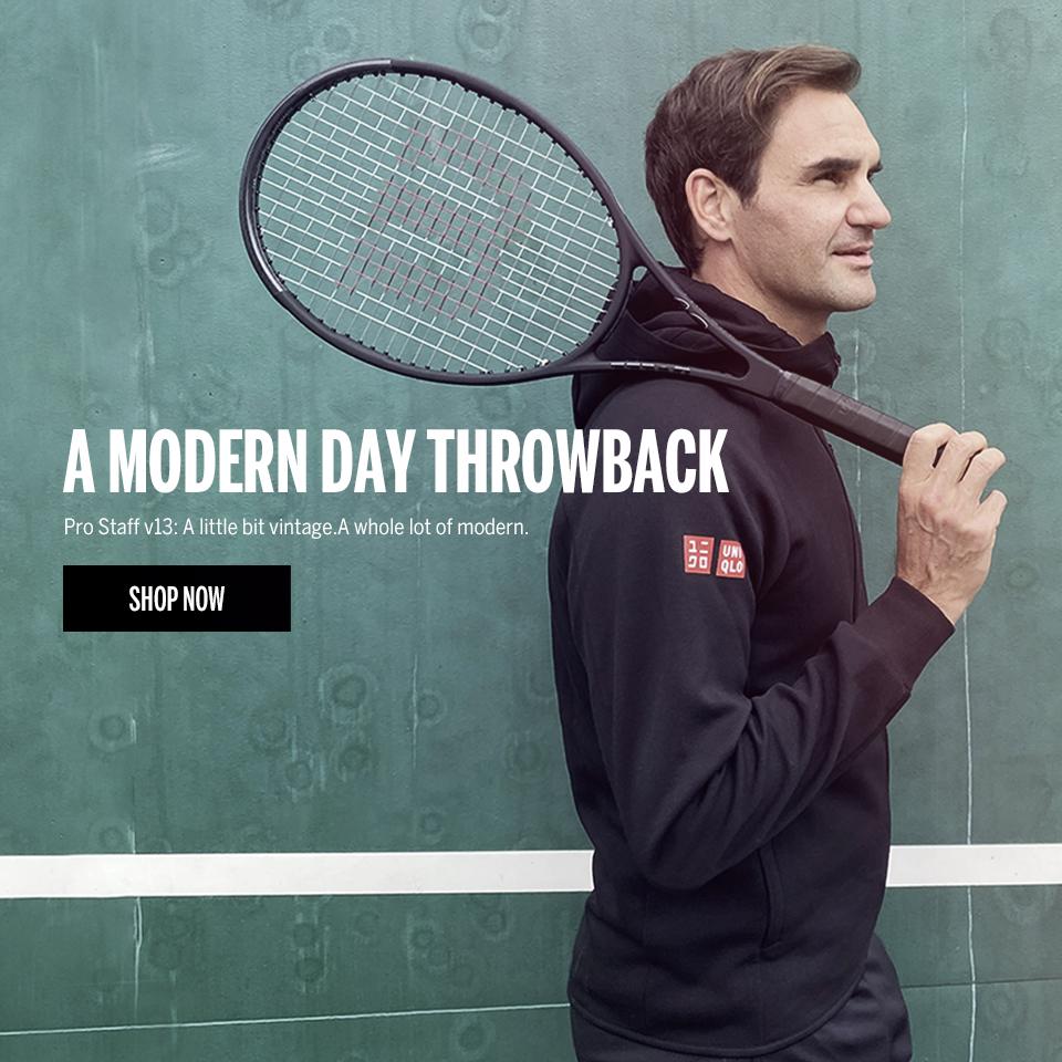 NEW: Wilson Roger Federer Pro Staff All Black Tennis Racquet