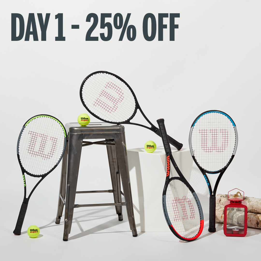 Save 40% on Wilson Performance Tennis Racquets $179+