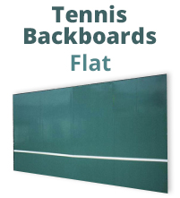 Flat Tennis Backboards - Tennis Training Wall