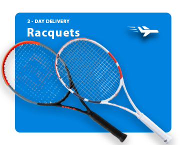 Guaranteed Two Day Delivery Tennis Racquets
