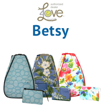 40 Love Courture Betsy Medium Tennis Backpack