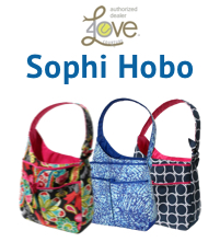 40 Love Courture Sophi Hobo Tennis Tote