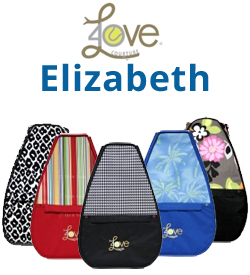 40 Love Courture Elizabeth Tennis Backpack