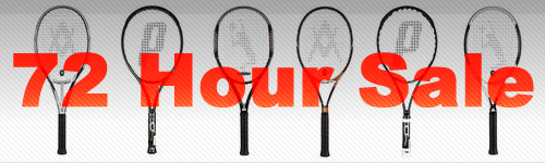 72-Hour Racquet Sale