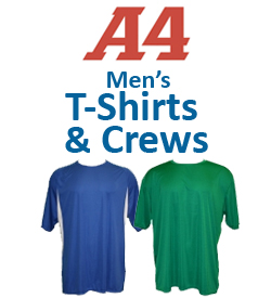 A4 Men's T-Shirts & Crew Necks Tennis Apparel
