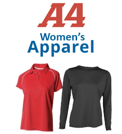 A4 Women's Apparel Tennis Apparel