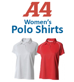 A4 Women's Polo Shirts Tennis Apparel