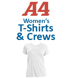 A4 Women's T-Shirts & Crew Necks Tennis Apparel