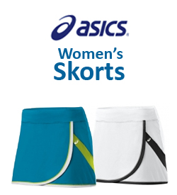 Asics Women's Skorts Tennis Apparel