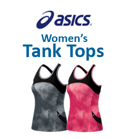 Asics Women's Tank Tops Tennis Apparel