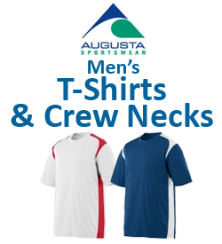 Augusta Men's T-Shirts & Crew Necks Tennis Apparel