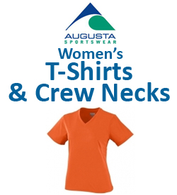 Augusta Women's T-Shirts & Crew Necks Tennis Apparel