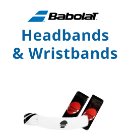 Babolat Headbands & Writsbands Tennis Apparel