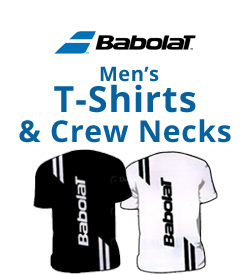 Babolat Men's T-Shirts & Crew Necks Tennis Apparel