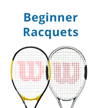Beginner tennis racquets