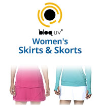 Bloq-UV Women's Skirts & Skorts