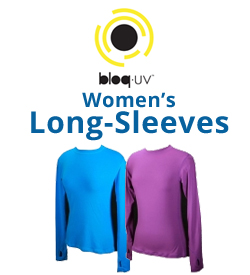 Bloq-UV Women's Long-Sleeve Shirts Tennis Apparel