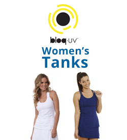 Bloq-UV Women's Tanks Tennis Apparel