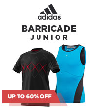 SALE: Adidas Barricade Tennis Apparel for Kids