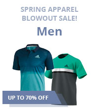 Sale Men's Closeout Tennis Apparel Shirts Shorts