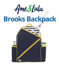 Ame & Lulu Brooks Tennis Backpack