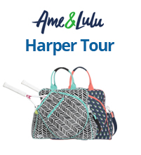 Ame & Lulu Harper Tennis Tour Bags