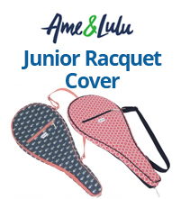 Ame & Lulu Good Sport Junior Girl's Tennis Racquet Cover