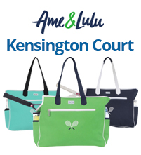 Ame and Lulu Kensington Tennis Court Bags
