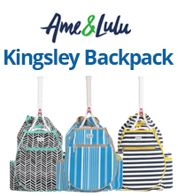 Ame and Lulu Kingsley Tennis Backpacks