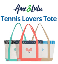 Ame & Lulu Tennis Lovers Tote