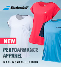NEW: Babolat Performance Tennis Apparel for Men, Women, and Juniors