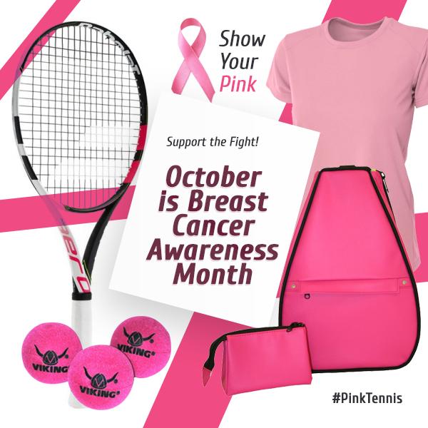 #PinkTennis