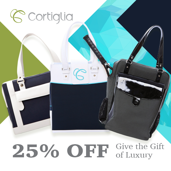 Cortiglia Tennis Bag Holiday Cyber Sale